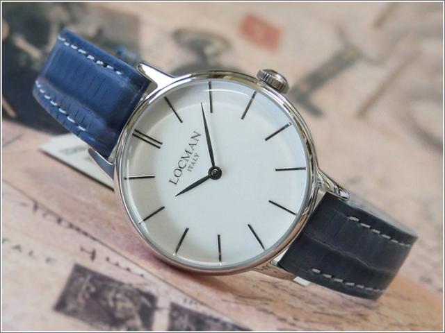 ロックマン LOCMAN 腕時計 0253A08A-00WHNKPS 1960 LADY レザーベルト