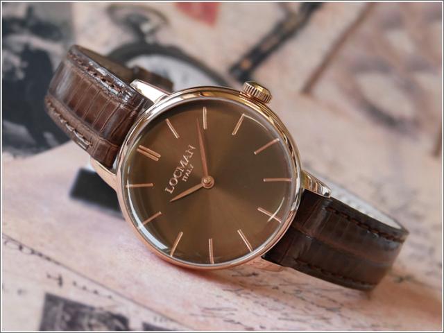 ロックマン LOCMAN 腕時計 0253R04R-RRBNRGPN 1960 LADY レザーベルト
