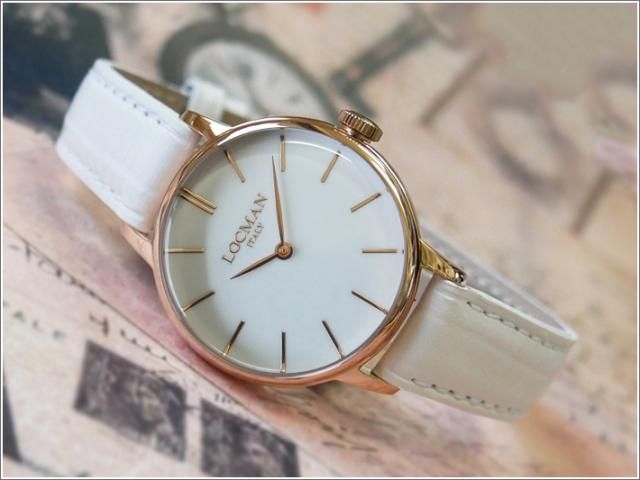 ロックマン LOCMAN 腕時計 0253R08R-RRWHRGPW 1960 LADY レザーベルト