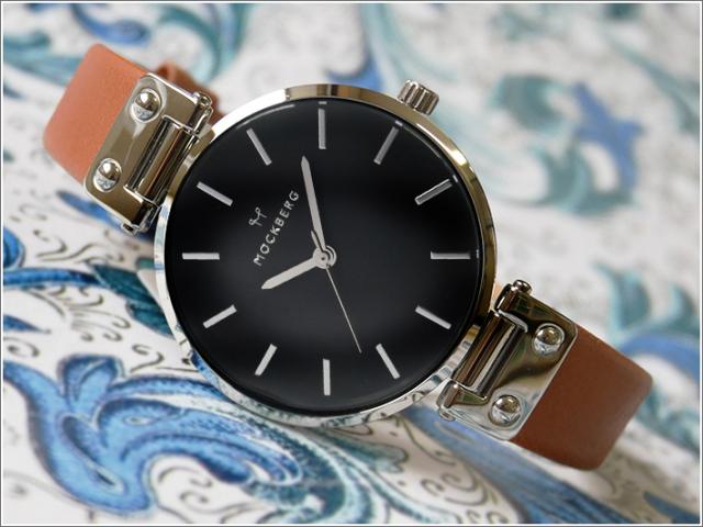 モックバーグ MOCKBERG 腕時計 MO112 Wera Black レディース クォーツ レザーベルト