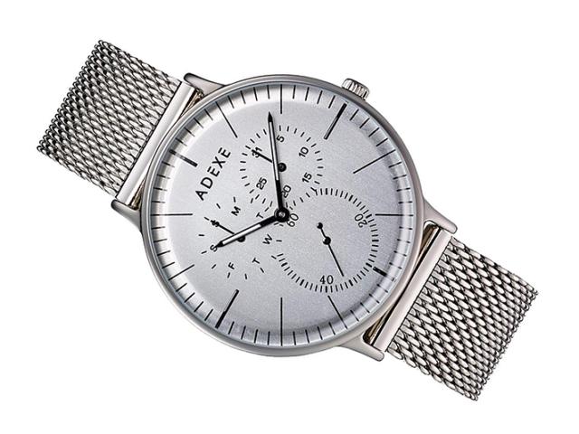 アデクス ADEXE 腕時計 1868A-01 クォーツ 41mm メンズ