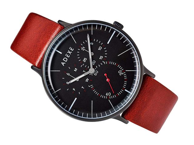 アデクス ADEXE 腕時計 1868A-02 クォーツ 41mm メンズ