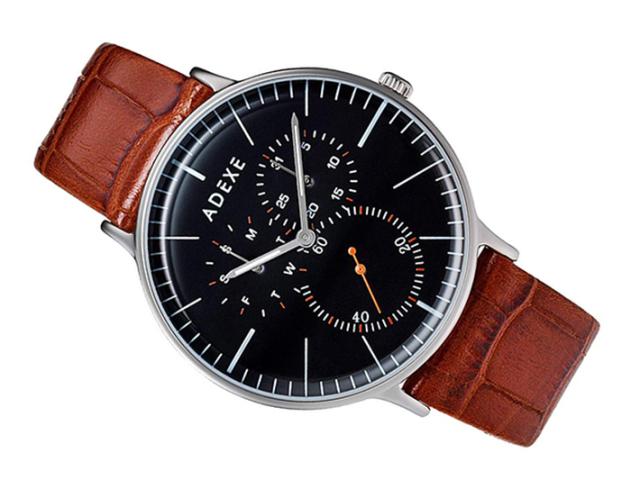 アデクス ADEXE 腕時計 1868A-04 クォーツ 41mm メンズ