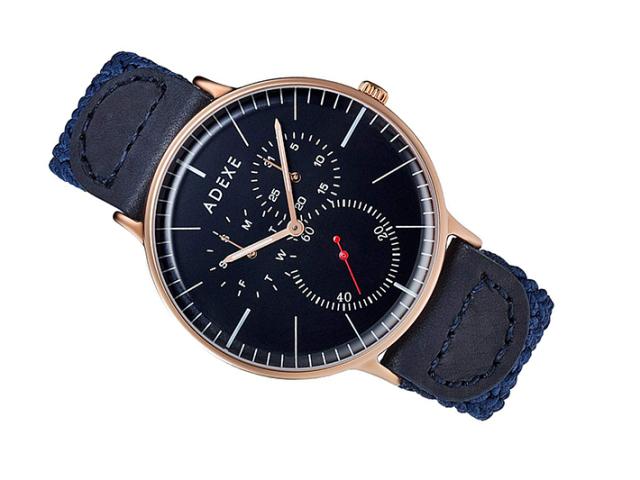 アデクス ADEXE 腕時計 1868A-08 クォーツ 41mm メンズ