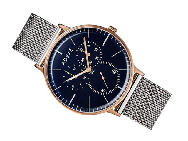 アデクス ADEXE 腕時計 1868A-10 クォーツ 41mm メンズ