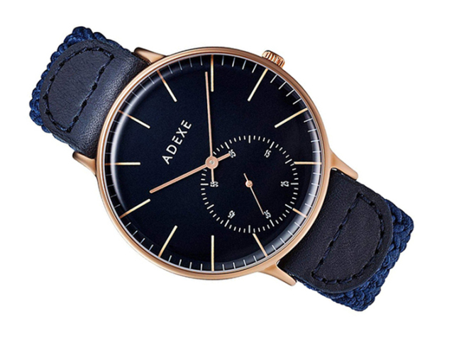 アデクス ADEXE 腕時計 1868B-06 クォーツ 41mm メンズ