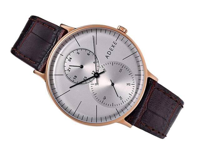アデクス ADEXE 腕時計 1868C-03 クォーツ 41mm メンズ