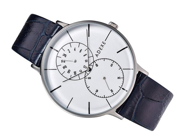 アデクス ADEXE 腕時計 1868D-02 クォーツ 41mm メンズ