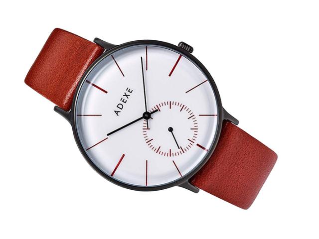 アデクス ADEXE 腕時計 1868E-03 クォーツ 41mm メンズ