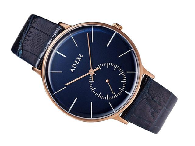アデクス ADEXE 腕時計 1868E-06 クォーツ 41mm メンズ