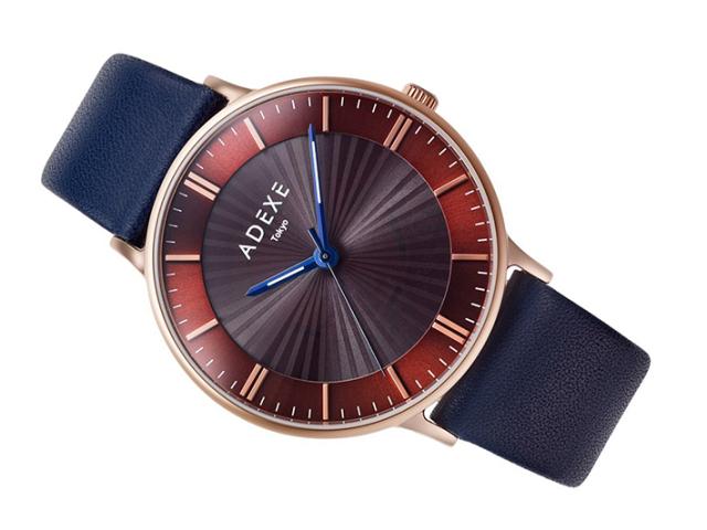 アデクス ADEXE 腕時計 1868I-02 ソーラークォーツ 41mm メンズ