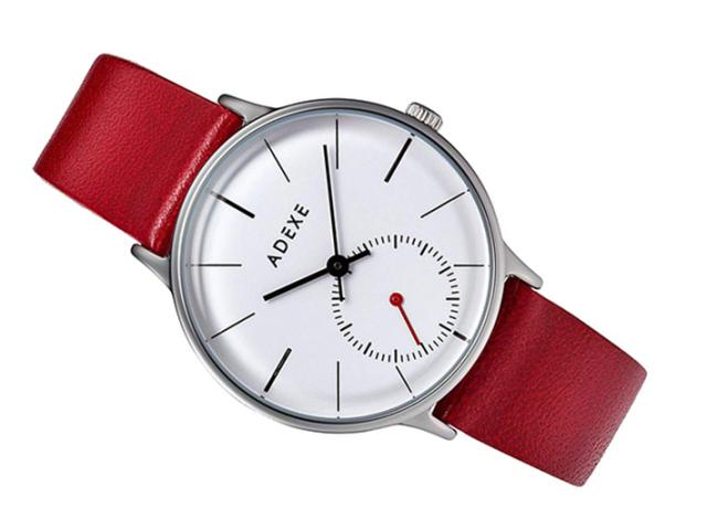 アデクス ADEXE 腕時計 1870B-07 クォーツ 33mm レディース