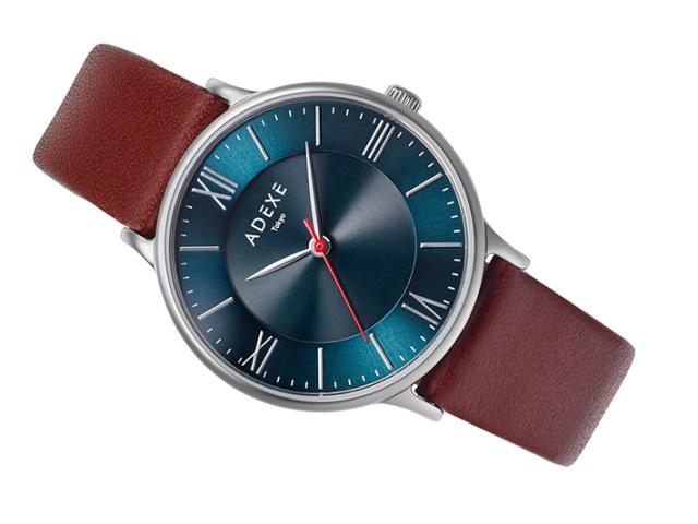 アデクス ADEXE 腕時計 1870E-04 ソーラークォーツ 33mm レディース