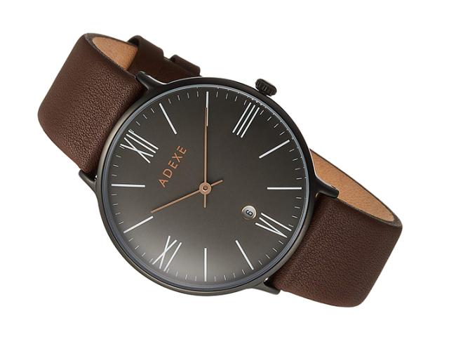 アデクス ADEXE 腕時計 1890B-02 クォーツ 41mm メンズ