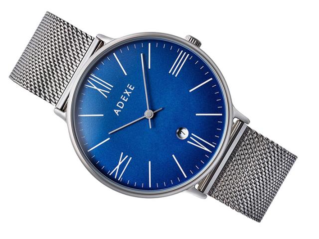 アデクス ADEXE 腕時計 1890B-05 クォーツ 41mm メンズ