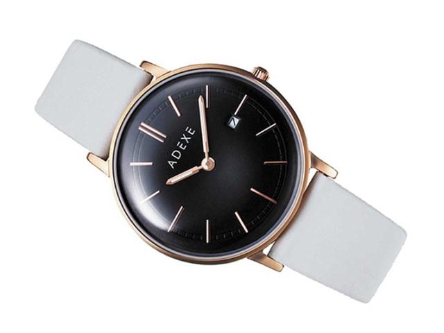 アデクス ADEXE 腕時計 2043A-05-JP18JN クォーツ 33mm レディース