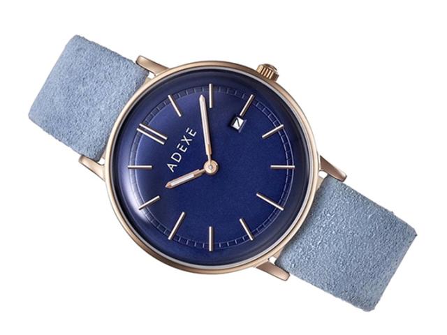 アデクス ADEXE 腕時計 2043A-06-JP18MAR クォーツ 33mm レディース