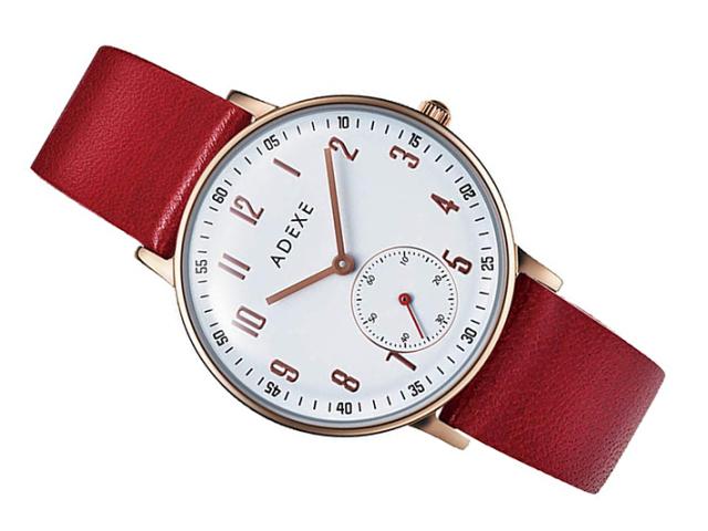アデクス ADEXE 腕時計 2043C-03-JP18JN クォーツ 33mm レディース