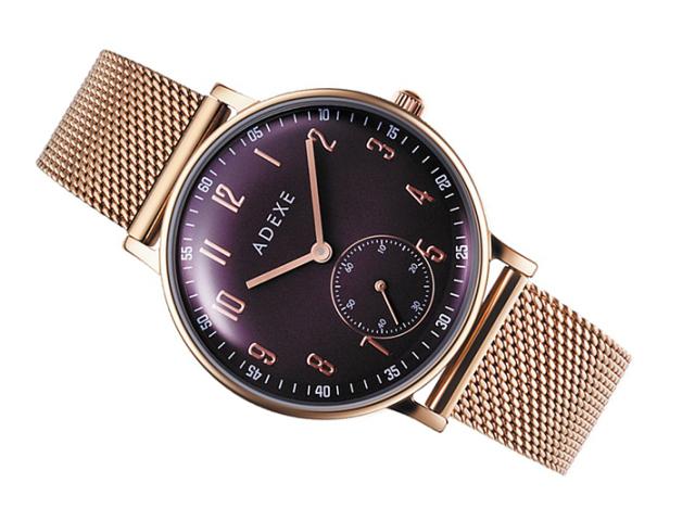 アデクス ADEXE 腕時計 2043C-05 クォーツ 33mm レディース
