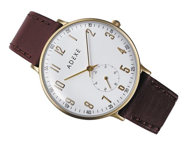 アデクス ADEXE 腕時計 2045A-01 クォーツ 41mm メンズ