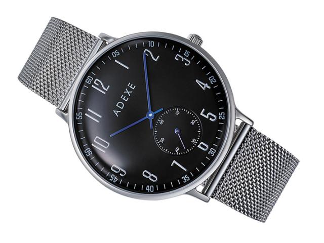 アデクス ADEXE 腕時計 2045A-06 クォーツ 41mm メンズ
