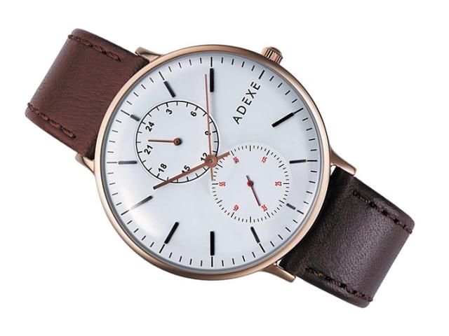 アデクス ADEXE 腕時計 2045B-02 クォーツ 41mm メンズ