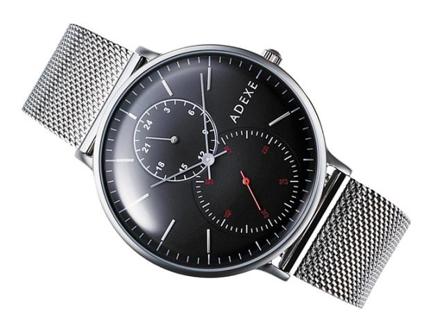 アデクス ADEXE 腕時計 2045B-06 クォーツ 41mm メンズ