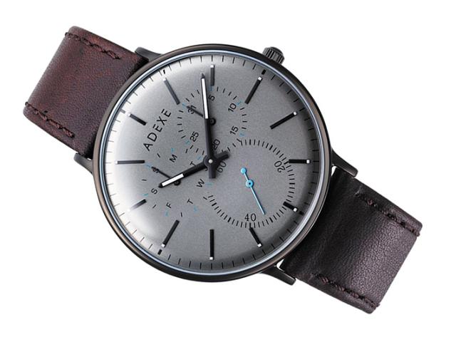 アデクス ADEXE 腕時計 2045C-03 クォーツ 41mm メンズ
