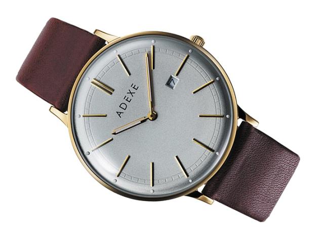 アデクス ADEXE 腕時計 2046A-03 クォーツ 41mm メンズ