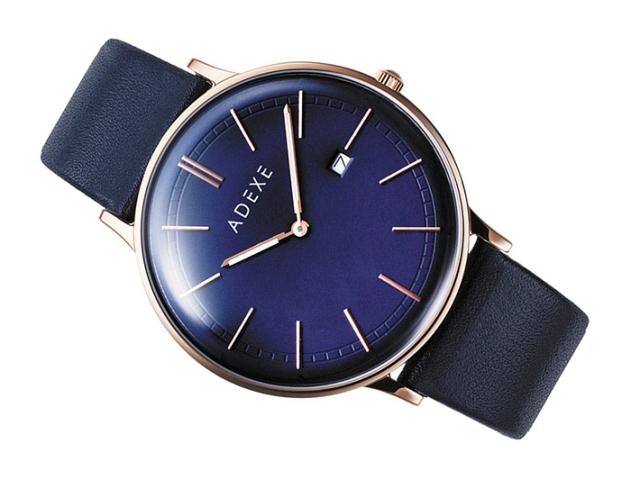 アデクス ADEXE 腕時計 2046A-04 クォーツ 41mm メンズ