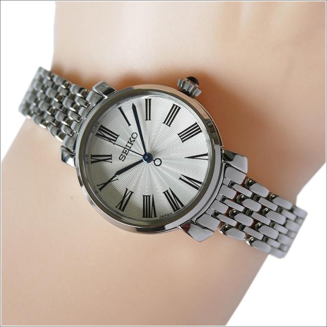 セイコー SEIKO 腕時計 SRZ495J1 レディース メタルベルト ハードレックスクリスタル 50m防水 クォーツ (Cal 7N01)