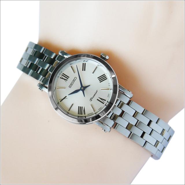 セイコー SEIKO 腕時計 SWR025J1 レディース メタルベルト プルミエ クォーツ (Cal 4N3)
