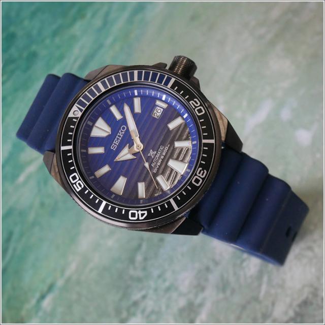 セイコー SEIKO 腕時計 SRPD09J1 メンズ ラバーベルト プロスペックス 200m防水 オートマチック ダイバー (Cal 4R35)