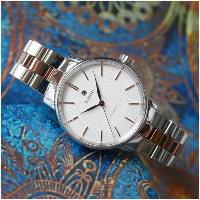 ラドー RADO 腕時計 R22862022 クポールクラシック 機械式自動巻 レディース メタルベルト