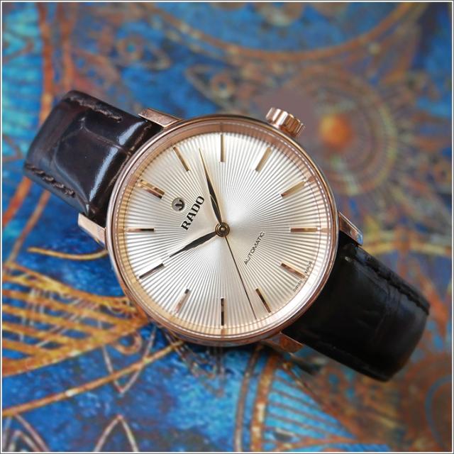 ラドー RADO 腕時計 R22865115 クポールクラシック 機械式自動巻 レディース レザーベルト