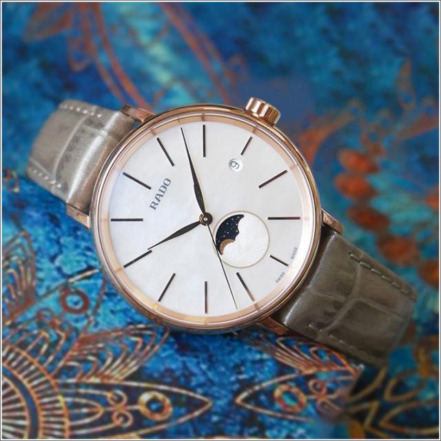 ラドー RADO 腕時計 R22885945 クポールクラシック クォーツ レディース レザーベルト