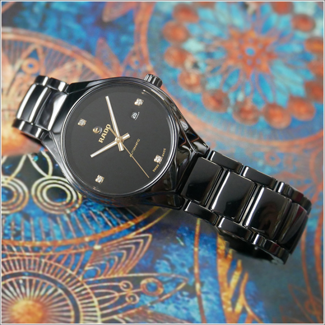 ラドー RADO 腕時計 R27242712 トゥルー 機械式自動巻 レディース セラミックベルト