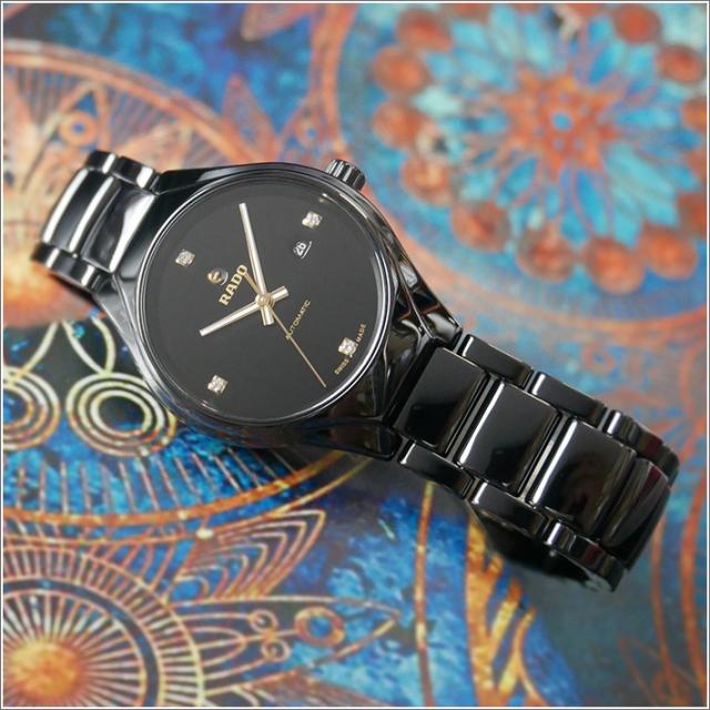 ラドー RADO 腕時計 R27243712 トゥルー 機械式自動巻 レディース セラミックベルト