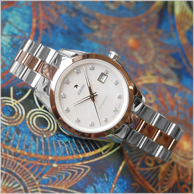 ラドー RADO 腕時計 R32087902 ハイパークローム 機械式自動巻 レディース メタルベルト