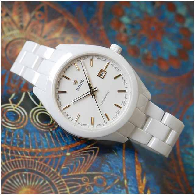 ラドー RADO 腕時計 R32257012 ハイパークローム 機械式自動巻 ユニセックス セラミックベルト