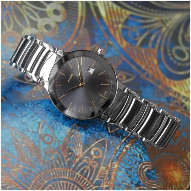 ラドー RADO 腕時計 R30928132 セントリック クォーツ レディース セラミック/メタルベルト