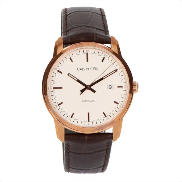 カルバンクライン CALVIN KLEIN 腕時計 CK K5S346G6 インフィニット 機械式自動巻 メンズ レザーベルト