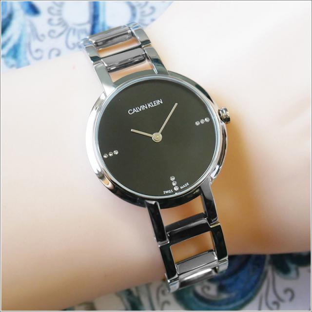 カルバンクライン CALVIN KLEIN 腕時計 CK K8N2314S チアーズ クォーツ レディース メタルベルト