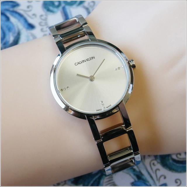 カルバンクライン CALVIN KLEIN 腕時計 CK K8N2314W チアーズ クォーツ レディース メタルベルト