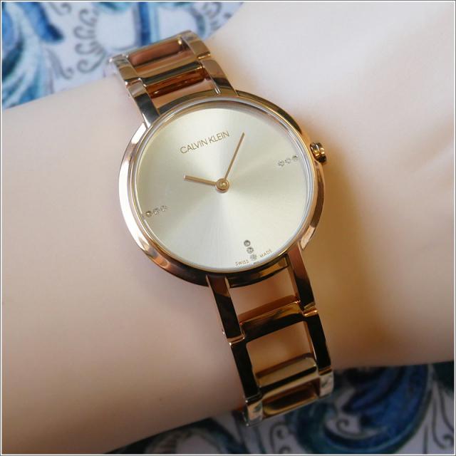 カルバンクライン CALVIN KLEIN 腕時計 CK K8N2364W チアーズ クォーツ レディース メタルベルト