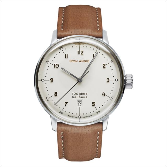 アイアンアニー IRON ANNIE 腕時計 5046-1QZ バウハウス クォーツ 3針 メンズ レザーベルト