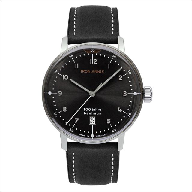 アイアンアニー IRON ANNIE 腕時計 5046-2QZ バウハウス クォーツ 3針 メンズ レザーベルト