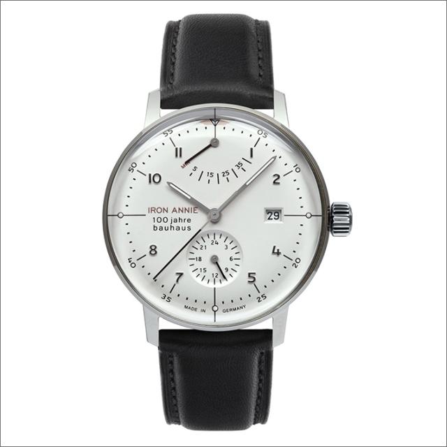 アイアンアニー IRON ANNIE 腕時計 5066-1AT バウハウス 自動巻 パワーリザーブ メンズ レザーベルト