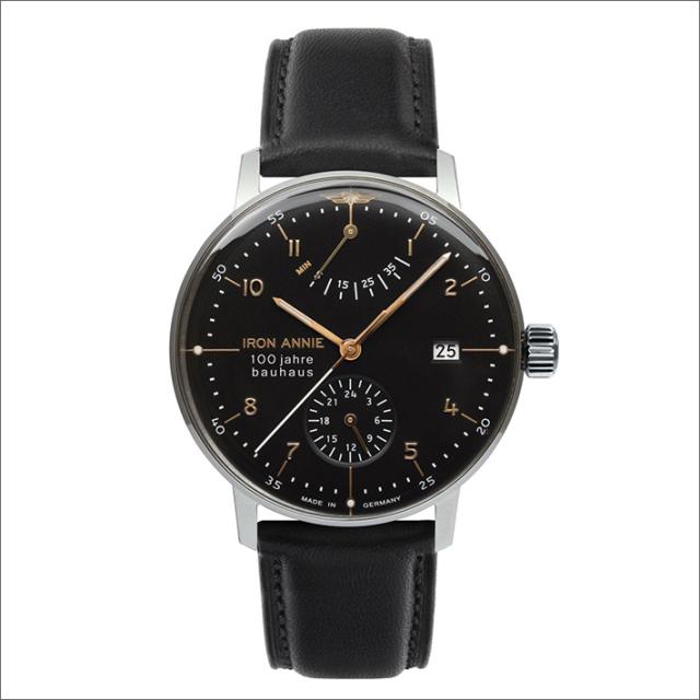 アイアンアニー IRON ANNIE 腕時計 5066-2AT バウハウス 自動巻 パワーリザーブ メンズ レザーベルト