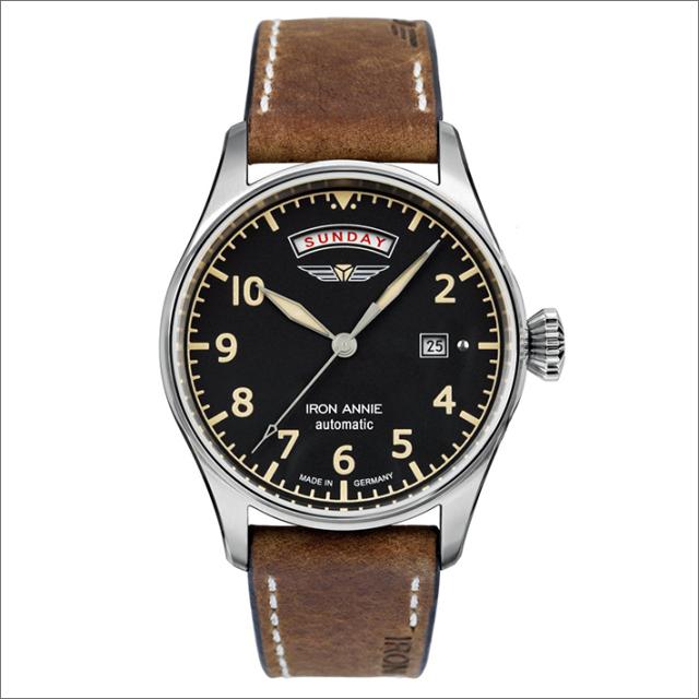 アイアンアニー IRON ANNIE 腕時計 5164-2AT フライトコントロール 自動巻 24時間表示 メンズ レザーベルト